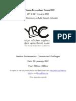 Youth Voice:The Missing Link in Sri Lanka's Environmental Discourse - Thiagi Piyadasa