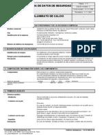 Ficha de Seguridad Cemento Aluminoso