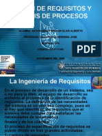 Gestion de Requisitos y Analisis de Procesos