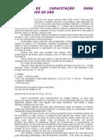 CURSO DE CAPACITAÇÃO PARA PROFESSORES DE EBD 2