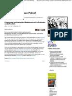 INDECT - Stasi 2.0 - Emotionaler und sexueller Missbrauch durch Polizisten wird öffentlich