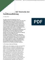INDECT - Informationsstelle Militarisierung (IMI) - Augen aus dem All - Netzwerke der Satellitenaufklärung