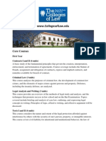 Core Courses Colleges Of Law California
