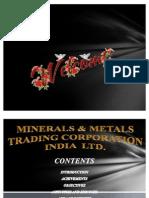 Metals & Minerals Trading Corporation India Ltd