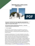 Breve Historia de La Educacion Uruguaya - Bralich