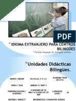 IDIOMA EXTRANJERO PARA CENTROS BILINGÜES.2.0