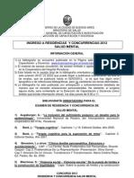 Residencia Psicologia 2012