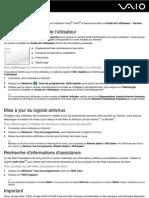 Fra_vaio User Guide_vpcee Vpcef