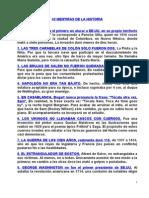 43 Mentiras de La Historia.