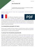 Rémunération en droits d'auteur (fr) - JurisPedia, le droit partagé