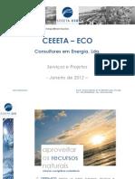 Apresentaçao CEEETA-ECO 2012Jan