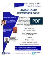 IYC 2012 Global Youth Networking Flyer