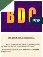 ABAP BDC Document
