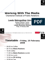 Cipr - Media Relations 2008