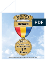 Oxford Best of the Best 2011