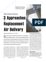 Atria Smoke Exhaust - Three Approaches to Replacement Air Delivery