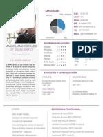 Curriculum + Portfolio 2012