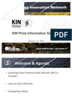 KIN Prize Info Session Deck_Jan12_2012_v4