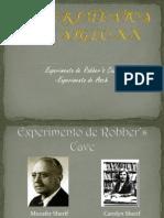 Experimentos siglo XX