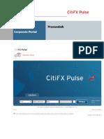 Instrukcja CITIFX Pulse Corporate Portal - Panel Walutowy