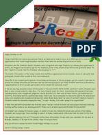 FHES December Principal Newsletter 2011