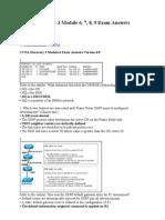 CCNA Discovery 3 Module 6