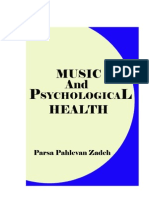 Music and Psychological Health