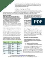 Payday Lending 1-Pgr 2012.1