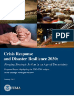 Crisis Response and Disaster Resilience 2030