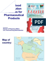 Who Good Distribution Practices for Pharmaceutical Products