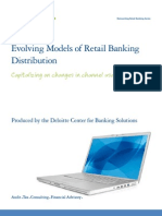 Evolving Models of Retail Banking