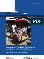 Developing a Profiling Methodology for Displaced People in Urban Areas (Case Study