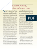 Case_Du Pont and Southwire-Implementing Successful Enterprise Information Portals_extranet Intranet