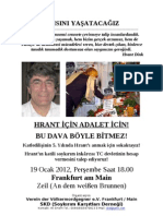 SKD Mahnwache Hrant Dink 19.1
