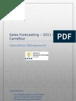 Sales Forecasting - Carrefour