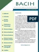 Boletín del Aula Canaria de Investigación Histórica nº 6 (BACIH 6) 2012