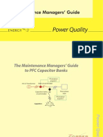 The Maintenance Managers' Guide to PFC Capacitor Banks