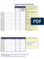 Excel Time Management Todo DovicoSoftware