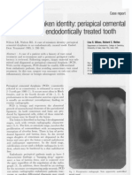 A Case of Mistaken Identity_ Periapical Cemental Dysplasia in an ally Treated Tooth