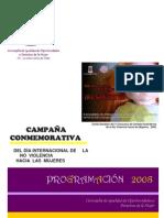 Dossier Prensa 25 NOVIEMBRE 2008