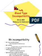 Blood Type Incompatibility