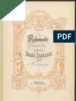 SchubertD797 Rosamunde Piano Vocal Score