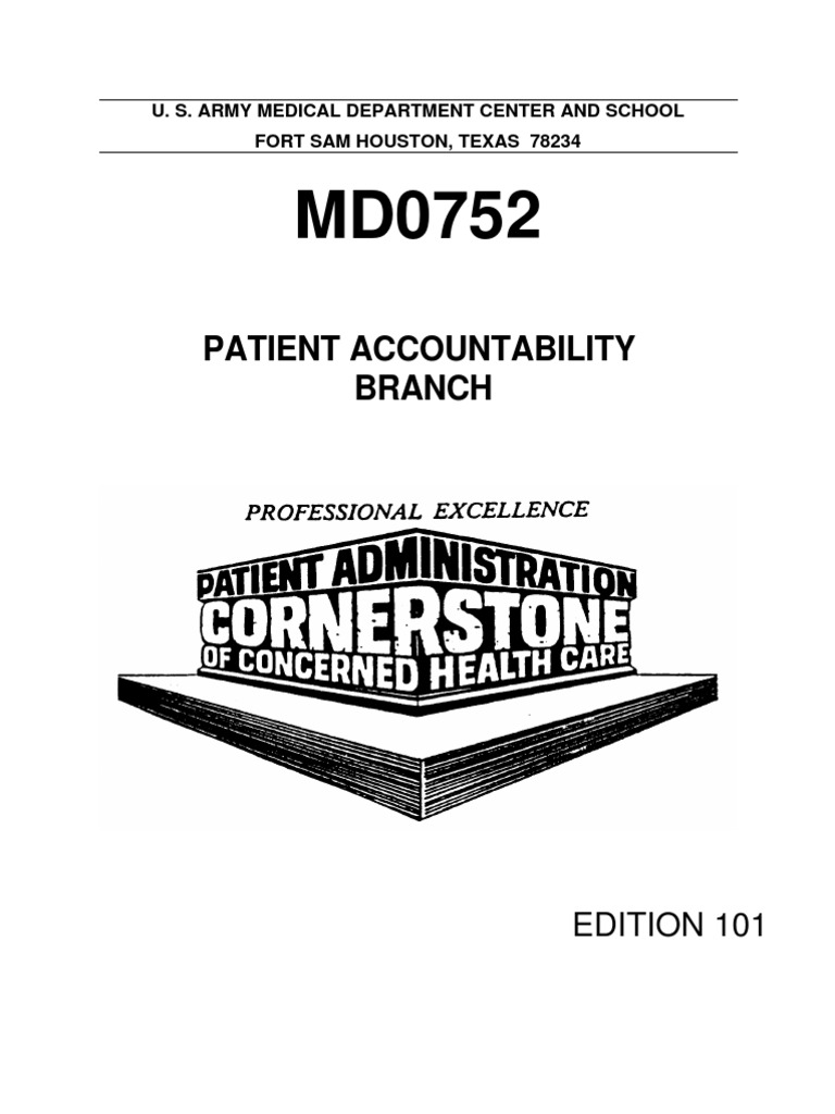 US Army Medical Course MD0752-101 - Patient Accountability Branch | Patient  | Race And Ethnicity In The United States Census