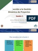 1 Sesion-Introduccion a La Gestion Dinamica de Proyectos