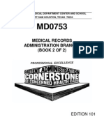 US Army Medical Course MD0753-101 Book2 - Medical Records Administration Branch