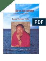 Budismo Tibetano Lama Tu Mente Es Un Oceano