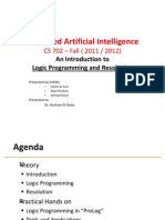AI Presentation HAW - Logical Programming and Resolution