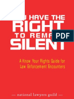 You Have the Right To Remain Silent NLG