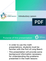 Port of Long Beach  Basics