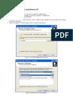 Instalação do sistema em rede Windows